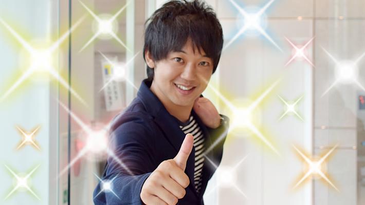 柴田社長のホワイトニング体験