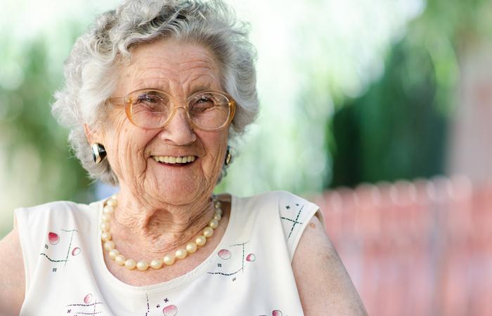 若々しいおばあちゃん